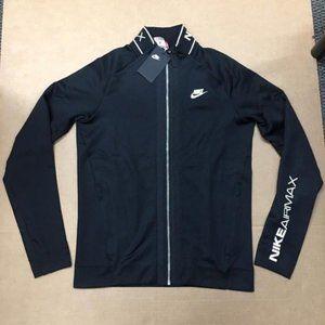 Nike Air Max Track Jacket Mens Size Small Black